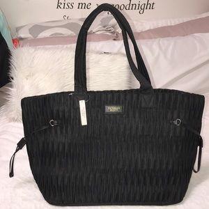 Black *VICTORIA'S SECRET* Travel Tote Shoulder Bag